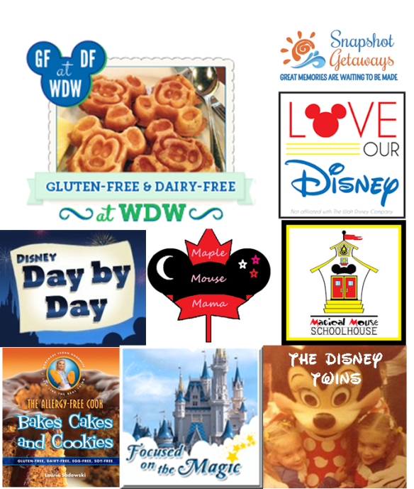 Awesome blogs participating in GF&DF@WDW's birthday giveaway!