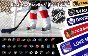 label daddy / NHL Logos